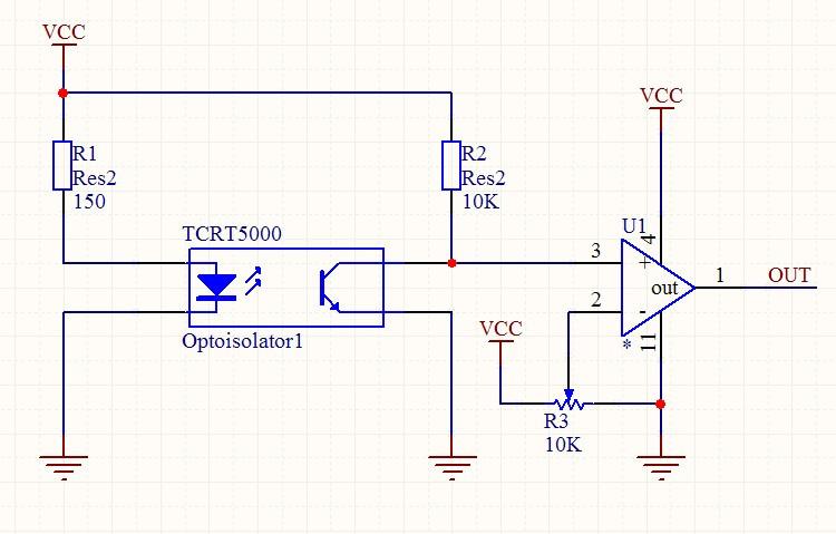 注:u1为比较器,常用的可以选lm358,lm324,lm393,lm339等一系列比较器!